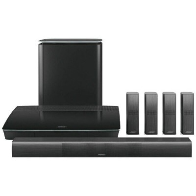 BOSE ホームシアター home entertainment system ブラック Lifestyle 650 BK [5.1 /Bluetooth対応][LIFESTYLE650BK] ...