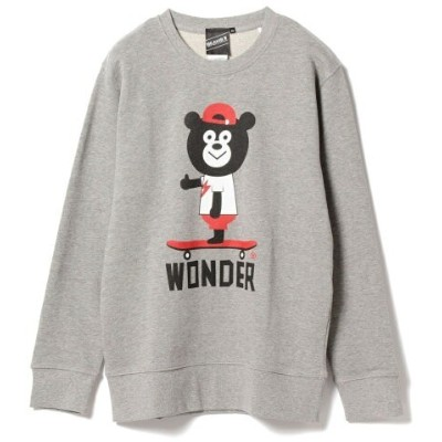 【SPECIAL PRICE】The Wonderful! design works. / Skate Bear Crew ビームスT ニット【送料無料】
