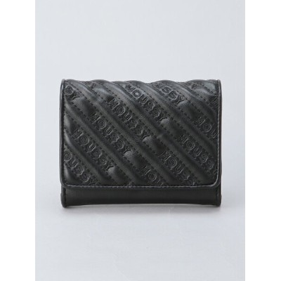 【SALE/30%OFF】MOUSSY MOUSSY/QUILTING WALLET MINI FLAP WALLET アスチュート 財布/小物 財布 ブラック ホワイト【送料無料】