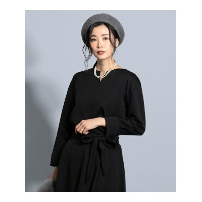 【SALE/30%OFF】J.PRESS LADIES チェックジャカード カットソー ジェイプレス カットソー【RBA_S】【RBA_E】【送料無料】