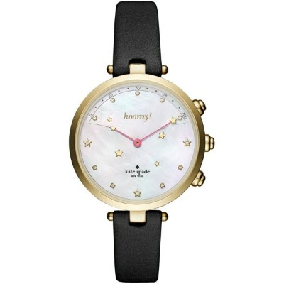 【SALE/50%OFF】kate spade new york kate spade new york/(W)HOLLAND HYBRID BLACK HOLLAND SMARTWATCH...