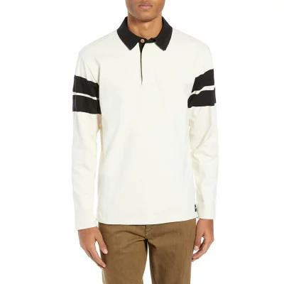 ハーレー HURLEY シャツ Banded Rugby Shirt Light Cream