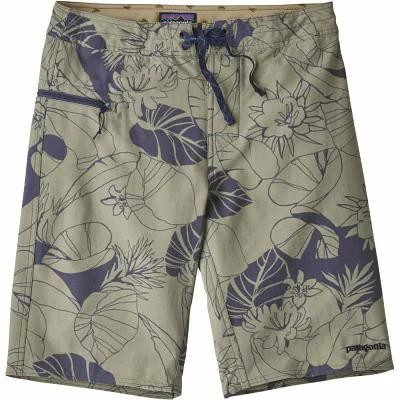 パタゴニア Patagonia 海パン Stretch Wavefarer Board Shorts SHALE/VALLEY FLORA