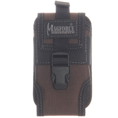 マグフォース MAGFORCE Butterfly Smartphone Pouch M DARKBROWN MF-0129