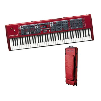 CLAVIA Nord Stage 3 HP 76 ケースセット ◆【送料無料】