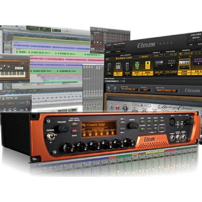 Avid ( アビッド ) Eleven Rack with Pro Tools Subscription 【取り寄せ商品/受注後納期確認 】 ◆【送料無料】【プロツールス】【ギター...