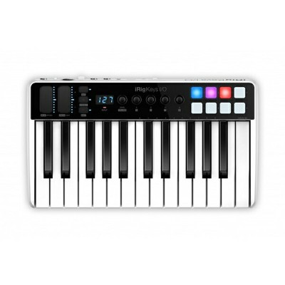 IK MULTIMEDIA iRig Keys I/O 25 ◆【送料無料】【MIDIコントローラー】