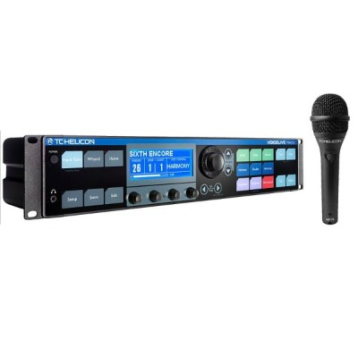 TC HELICON VoiceLive Rack (プログラマブル・マイクチャンネル/ボーカル・エフェクト・プロセッサー)(マンスリープレゼント)【ONLINE STORE】