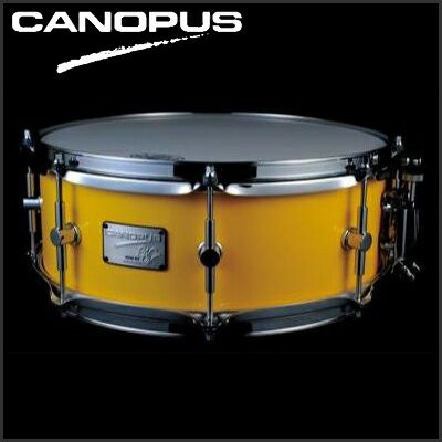 "CANOPUS Neo-Vintage Series Snare Drum NV60M3S-1455 14""x5.5"" (Cloudy Yellow) 《スネアドラム》【送料無料】【ONLINE..."