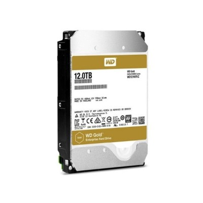 【送料無料】WESTERN DIGITAL WD121KRYZ WD Gold [3.5インチ SATA 内蔵HDD(7200rpm 12TB)]