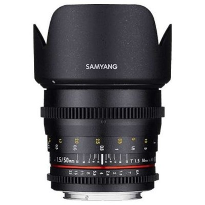 SAMYANG 50mm T1.5 VDSLR AS UMC ソニーE用