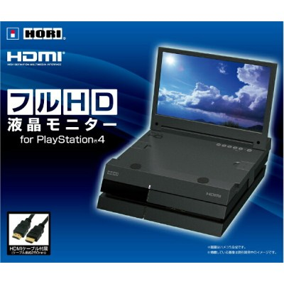 【中古】[ACC][PS4]フルHD 液晶モニター for PlayStation 4 HORI(PS4-014)(20140904)