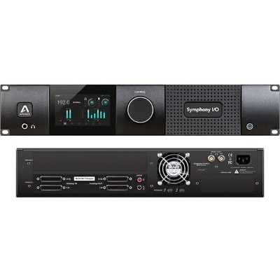 ●Apogee Symphony I/O MKII Thunderbolt Chassis with 16 Analog In + 16 Analog Out
