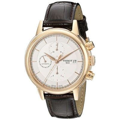 ティソ 腕時計 メンズ T0854273601100 Tissot Men's T0854273601100 Carson Swiss Automatic Watch With Brown...