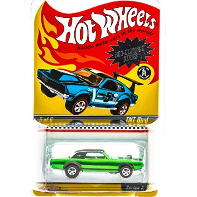 ホットウィール マテル ミニカー ホットウイール Hot Wheels Neo-Classics Series 5 TNT Bird GREEN 5/6 RLC Limited Edition 1...