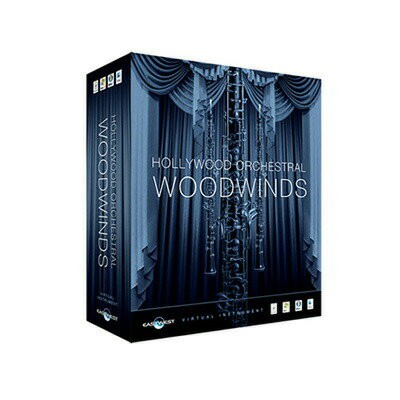 EASTWEST Hollywood Orchestral Woodwinds【Diamond Edtion】【HDD同梱版】※ライセンス発行は後日となります