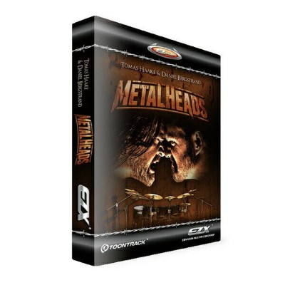 TOONTRACK EZX METAL HEADS