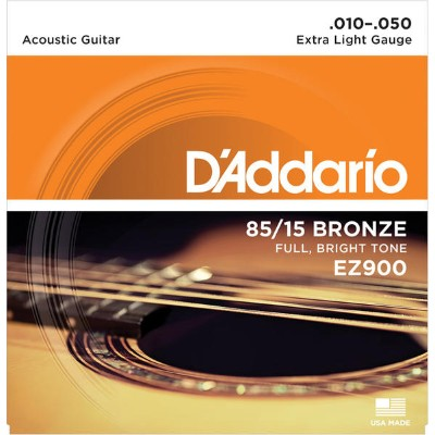 D'Addario 《ダダリオ》 EZ900 [American Bronze Extra Light]