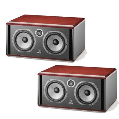 Focal Twin 6 Be Red ペア【SM6 series】【Twin 6 Be Red x2台】【モニタースピーカー】【アクティブ 2ウエイ・ニアフィールド・モニター・スピーカー】...