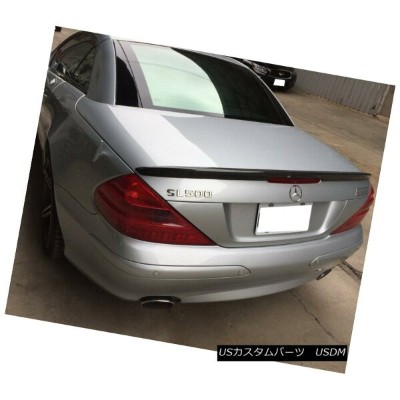 エアロパーツ A Look Carbon fiber Trunk Spoiler Wing For Mercedes Benz SL R230 convertible Mercedes Benz...