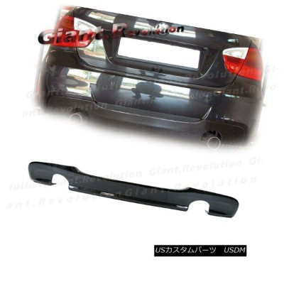 エアロパーツ For 06-11 E90 E91 Sedan Wagon Sporty Style Carbon Fiber Rear Bumper Diffuser Lip 06-11...