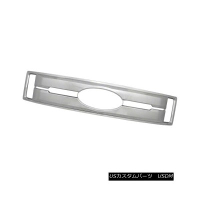 USグリル Grille Overlay/Insert for 17-18 Ford XL-Finish Chrome, 1 Piece 17-18フォードXLフィニッシュクローム...
