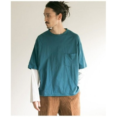 [Rakuten BRAND AVENUE]【SALE/50%OFF】BUKHT×URBAN RESEARCH LAYERED LONG-SLEEVE T-SHIRTS URBAN RESEARCH アーバンリサーチ カットソー【RBA_S】【RBA_E】【送料無料】