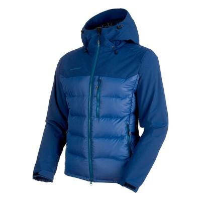 MAMMUT(マムート) Rime Pro IN Hybrid Hooded Jacket Men's S ultramarine×dark 1013-00640