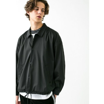 [Rakuten BRAND AVENUE]【SALE/50%OFF】 monkey time  TR SATIN COACH JACKET/コーチジャケット BEAUTY & YOUTH...