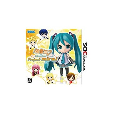 【送料無料】【中古】3DS 初音ミク and Future Stars Project mirai