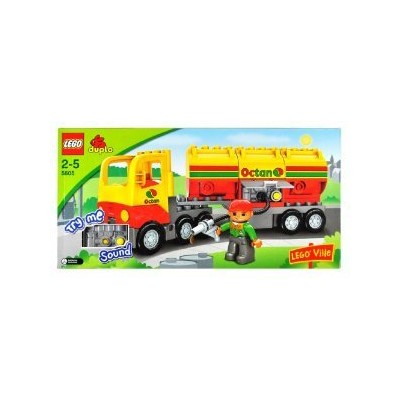 LEGO (レゴ) Duplo (デュプロ) Lego (レゴ) 'Ville 5605 Octan Tanker Truck Set with Sounds ブロック