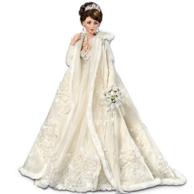 "Cindy McClure Touch Of Elegance: 21"" Porcelain Bride Doll by Ashton Drake アシュトンドレイク 人形"