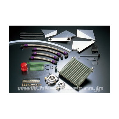 HKS OIL COOLER KIT トヨタ マーク2 JZX100用 Rタイプ (15004-AT004)【クーリングパーツ】エッチケーエス オイルクーラーキット