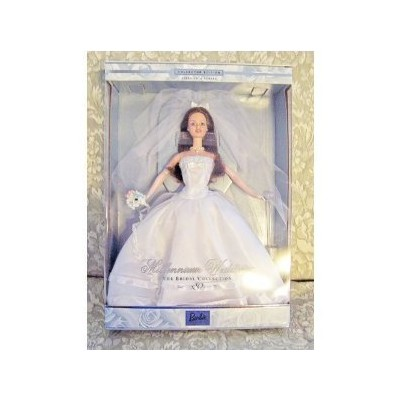 1999 Millennium Wedding Barbie (Brunette)