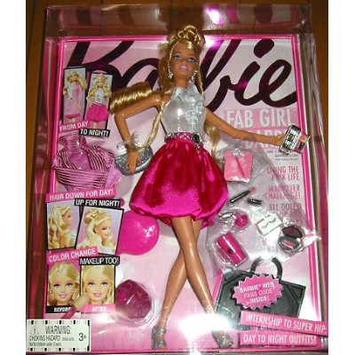 Barbie Fab Girl Doll