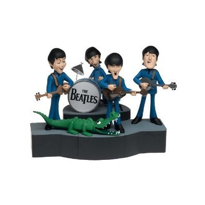 McFarlane Toys ロック 'n ロール Deluxe Action フィギュア Boxed セット Beatles Cartoon