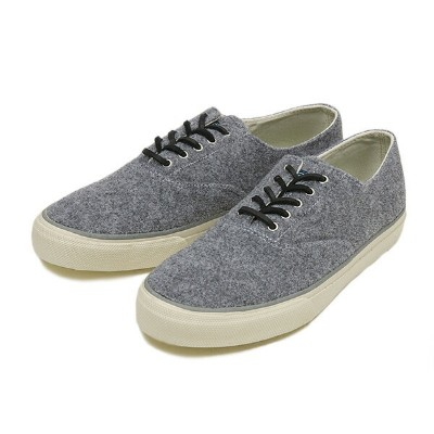 【SPERRY TOP-SIDER】 スペリー トップサイダー CVO WOOL STS10518 GRAY