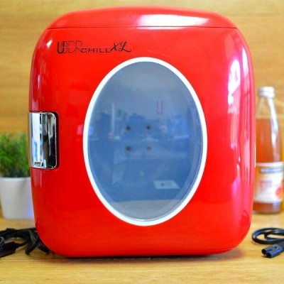 コンパクト レトロ 冷蔵庫 保温 切替 9L 12缶 Uber Appliance UB-XL1 Uber Chill 12 can 9 Liter retro personal mini...