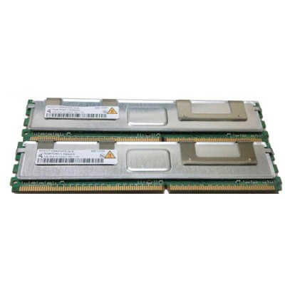 HP 398706-051 FB-DIMMPC2-5300F 1GB×2枚(計2GB) 【中古】