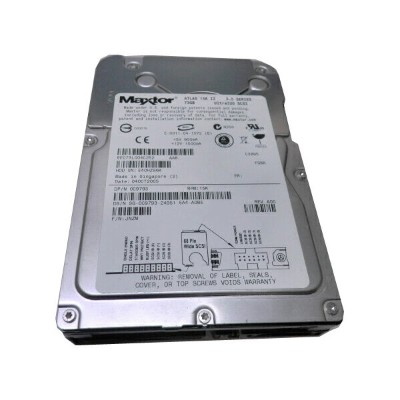 DELL 05W913(Maxtor ATLAS 10K 1V)【中古】73GB 10K Ultra320 68pin 3.5インチ