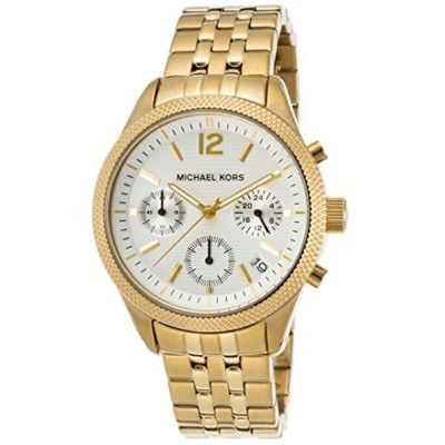 マイケルコース Michael Kors レディース 腕時計 時計 MIchael Kors MK6132 Ritz Gold-Tone Chronograph Women's Watch