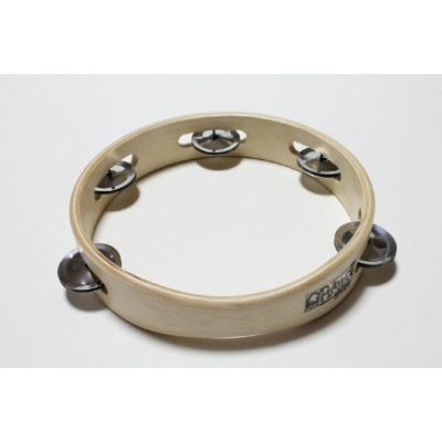 TOCA T1075 PLAYER'S SERIES WOOD TAMBOURINES7 1/2インチ 木製タンバリン