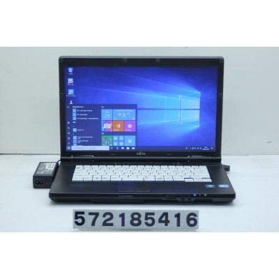 富士通 LIFEBOOK A572/F Core i3 3110M 2.4GHz/4GB/320GB/DVD/15.6W/FWXGA(1366x768)/Win10【中古】【20190108】