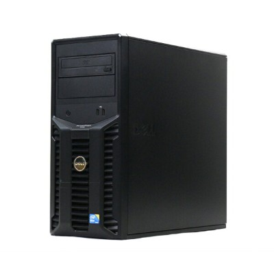 DELL PowerEdge T110 Xeon X3430 2.4GHz 8GB 250GBx2台(SATA 2.5インチ/RAID1構成) DVD-ROM PERC S300 【中古】...