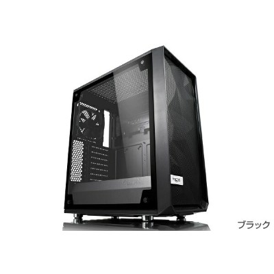 Fractal Design FD-CA-MESH-C-BKO-TGL (CS7100) [Meshify C Blackout TG Light Tint]新しく設計された角形メッシュのフロントデザ...