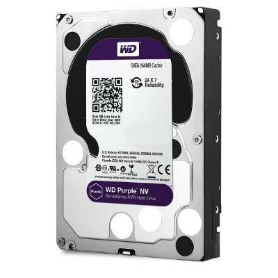WesternDigital WD4NPURX WD Purple NV SATA6Gb/s 64MB 4TB Intellipower 3.5インチハードディスク AF対応(新品・バルク品)...