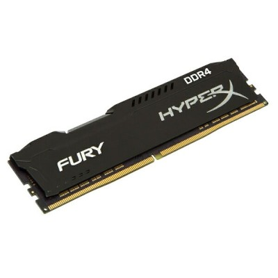 キングストン HyperX FURY シリーズ 全3色 8GB 2400MHz DDR4 CL15 DIMM 288pin 1Rx8 HX424C15F2/8