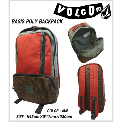 VOLCOM ボルコム BASIS POLY BACKPACK 30%off