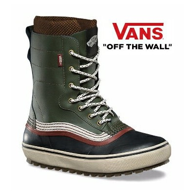 17/18★VANS Remedy Green/Sable VN0A3DINNZY バンズ Winter Boots SNOW SHOES ウィンターブーツ スノー メンズ