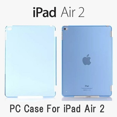 【送料無料 メール便発送】iPad Air2裏面用ケース crystal 全8色【iPad Air2 ケース Apple Smart Cover】【iPad Air2 Smart Cover...